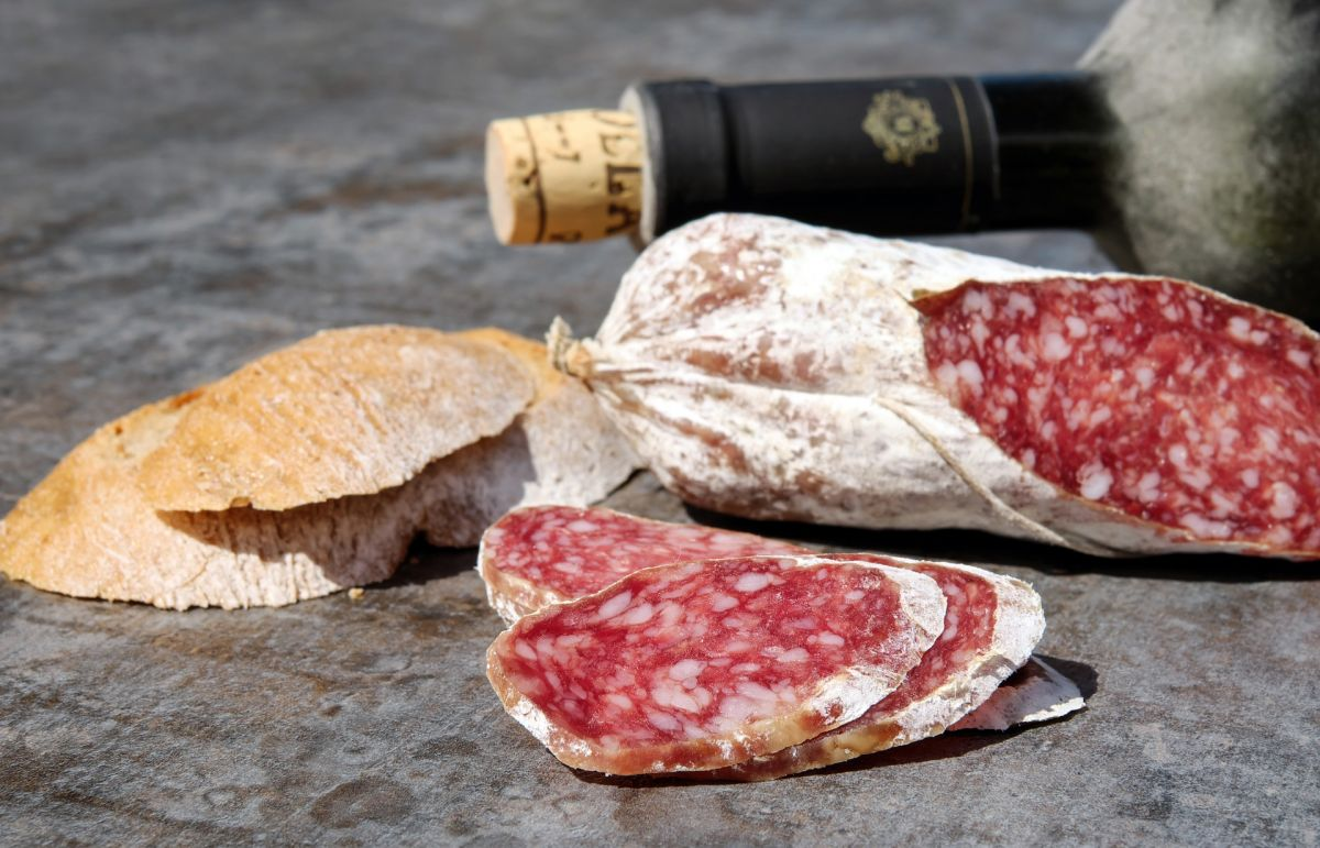 A different kind of sausage: salami. How it started and what's really inside