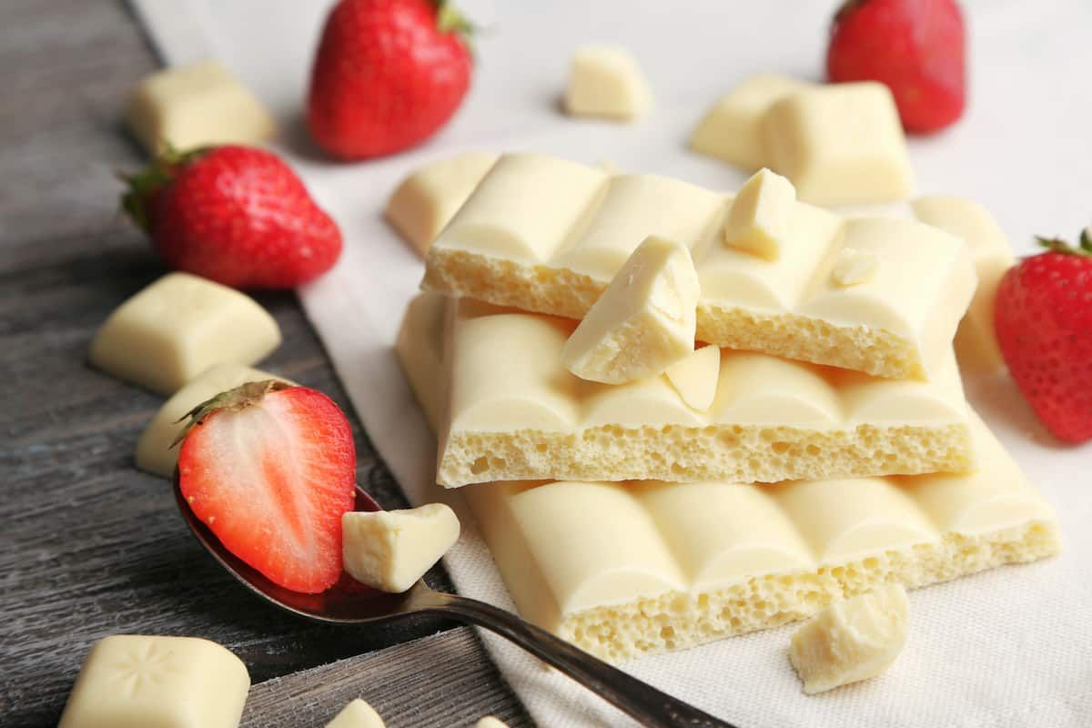 What makes white chocolate white?! Anything you always wanted to know about it!