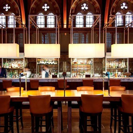 The Booking Office Bar And Restaurant St Pancras Renaissance Hotel Aus London Speisekarte