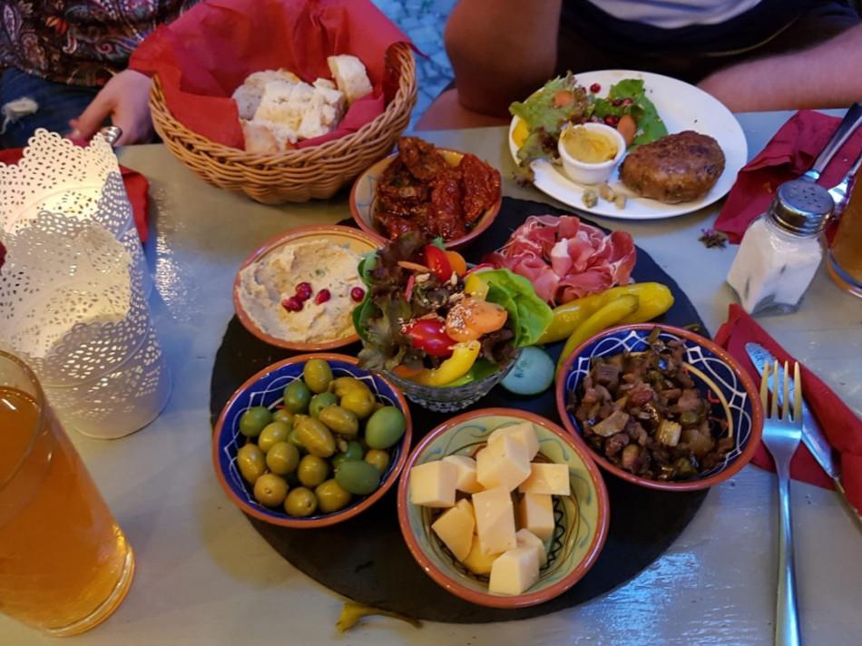 Die Pause aus Marburg Speisekarte