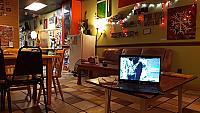 Cafe Latte Da inside