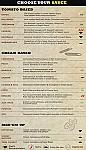 Mondo Fresco Victoria PArk menu