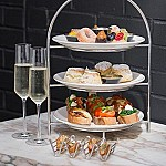 Afternoon tea at Monmouth Kitchen food