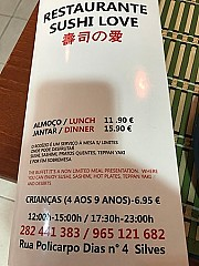 Restaurante Sushi Love