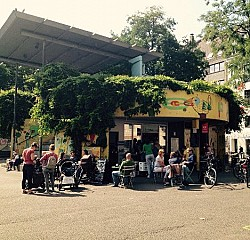 der Kaffeekiosk