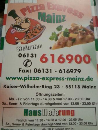 Pizza Express Mainz