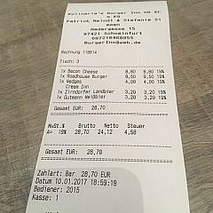 burger inn aus schweinfurt speisekarte mit bildern bewertungen und adresse. Black Bedroom Furniture Sets. Home Design Ideas