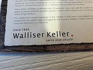 Walliser Keller 'SwissAlpeChuchi'