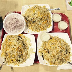 Hyderabadi Biryani (Kanpur)