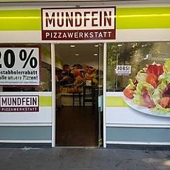 Mundfein Pizzawerkstatt Hh Wentorf Aus Wedel Speisekarte Mit