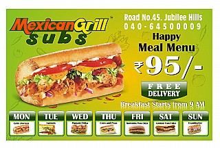 Mexican Grill Subs