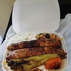 Adana Kebab und Pizza