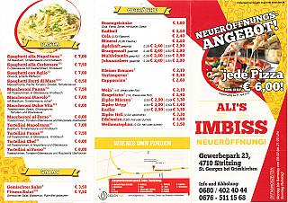 Ali`s Imbiss & Pizza Haus