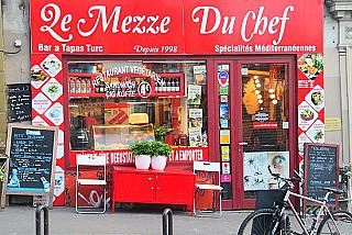 Le Mezzé du Chef Cig Köfte