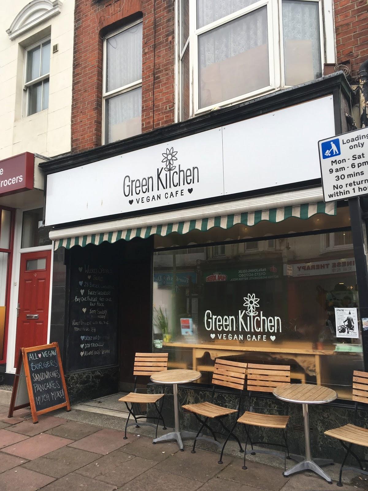 Green Kitchen Aus Brighton Speisekarte
