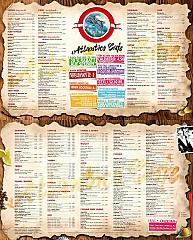 Cafe De France Speisekarte