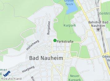 Bad Nauheim Karte