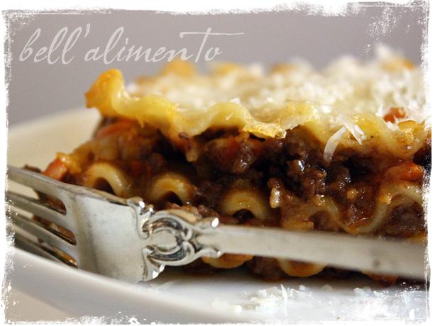 Foto der Schale Lasagne alla Chef
