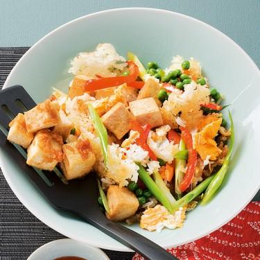 Gebratener Reis Tofu