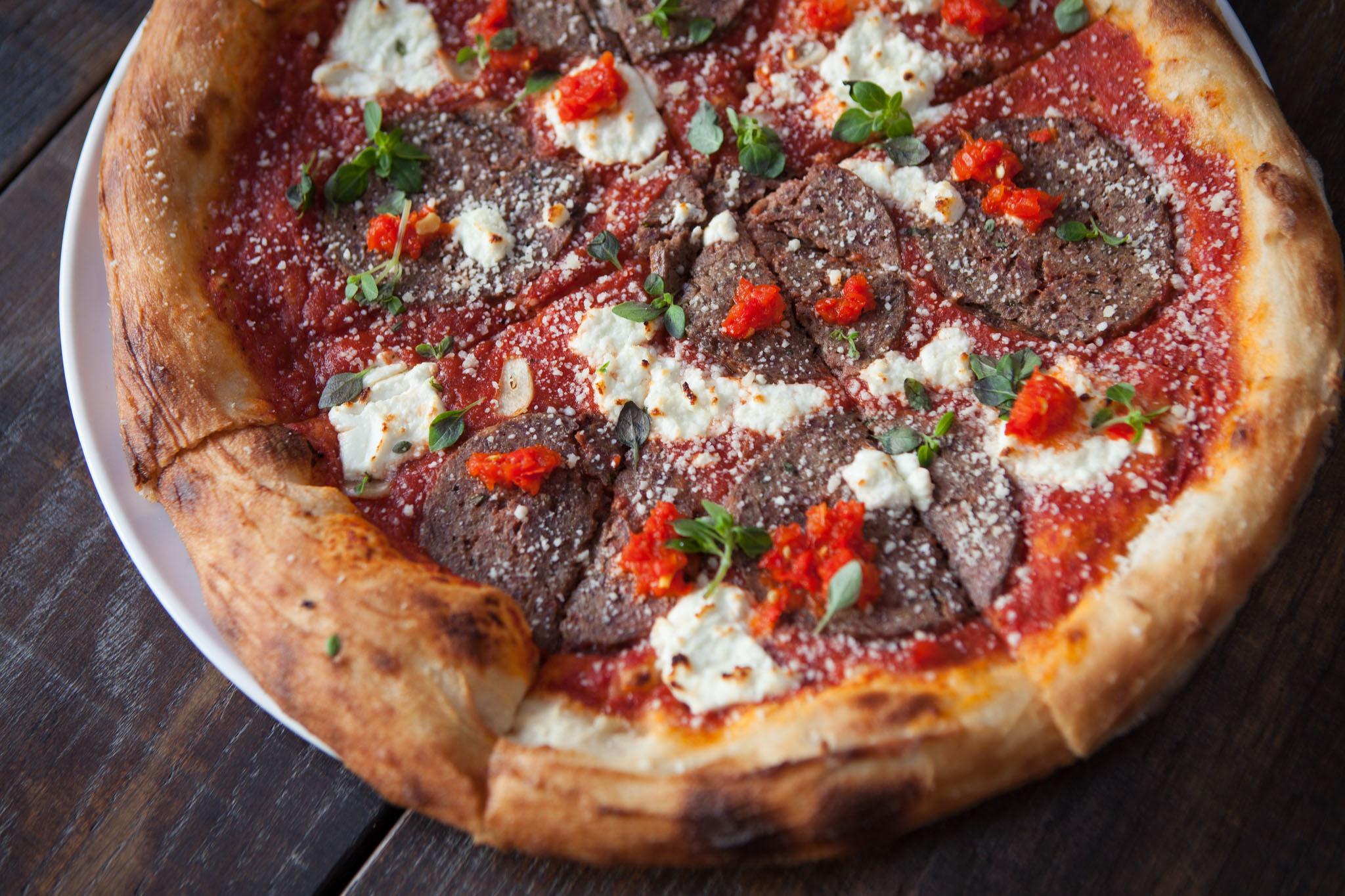 Foto der Schale Pizza Italiano