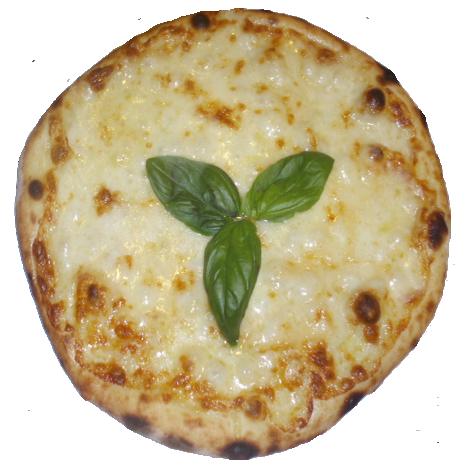 Foto der Schale Pizza Biancaneve