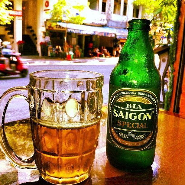 Foto der Schale Saigon Bier