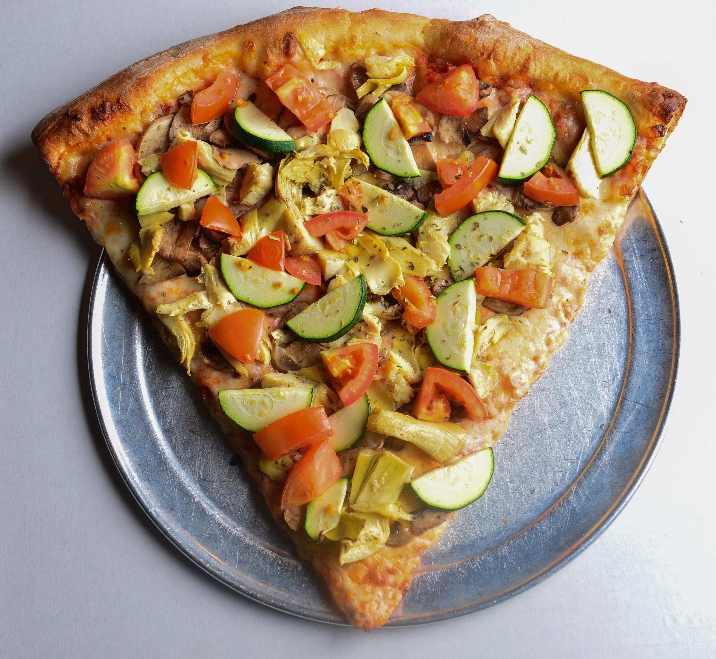 Foto der Schale Pizza Vegi