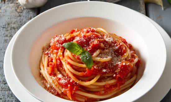 Foto der Schale Spaghetti Arabiata