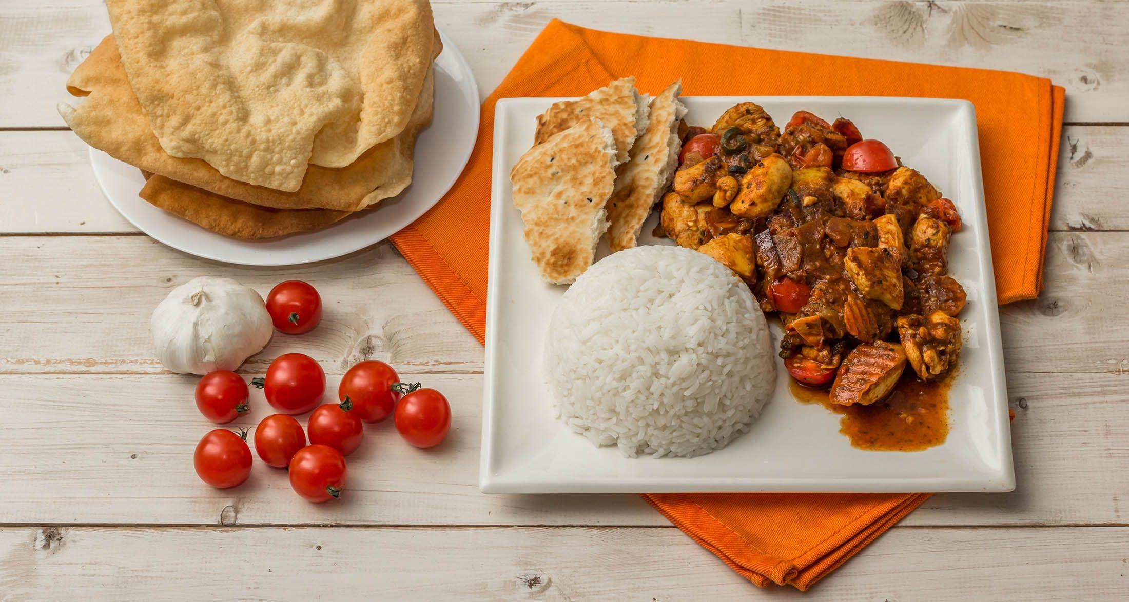 Foto der Schale Portion Basmati-Reis