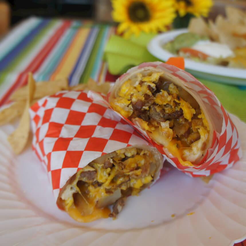 Foto der Schale Burrito Vegetariano