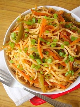 Mixed Schezwan Noodles