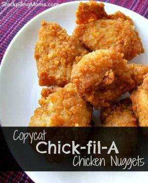 Foto der Schale Chicken Nuggets klein