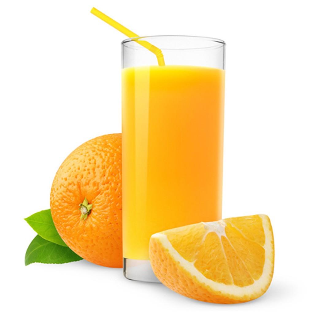 Foto der Schale Orangensaft