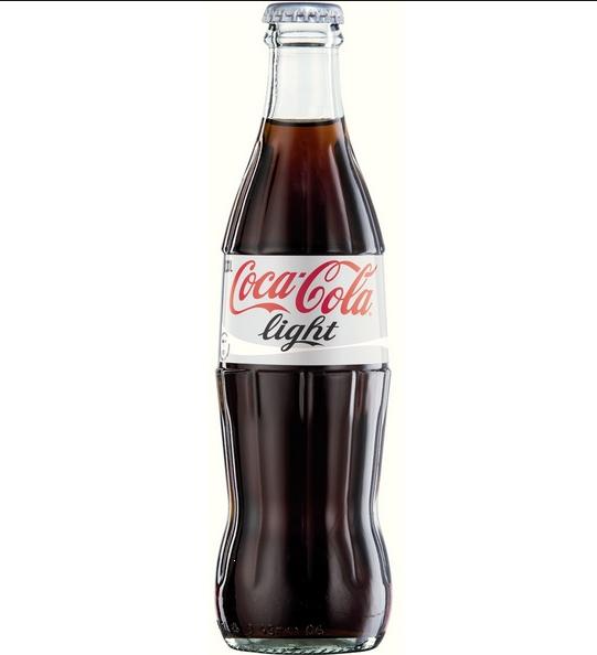 Foto der Schale Coca-Cola Light