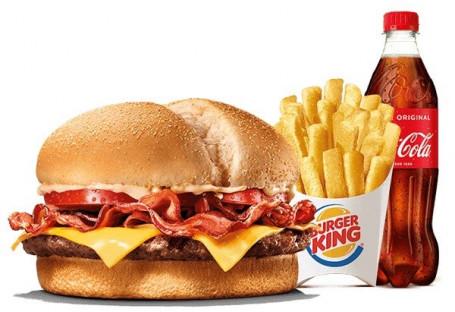 Men uacute; The King Bacon Carne