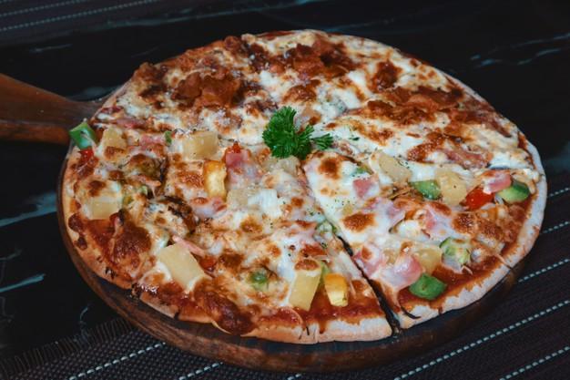 Foto der Schale Pizza Mista