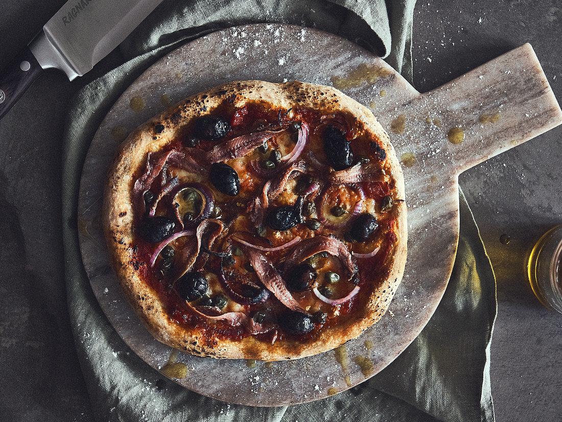 Foto der Schale Pizza Napoli