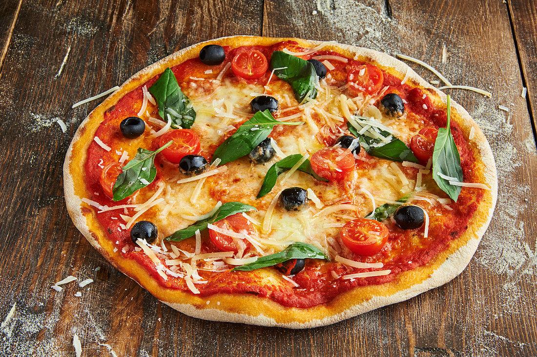 Foto der Schale Pizza Milano