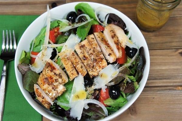 Foto der Schale Italienischer Salat