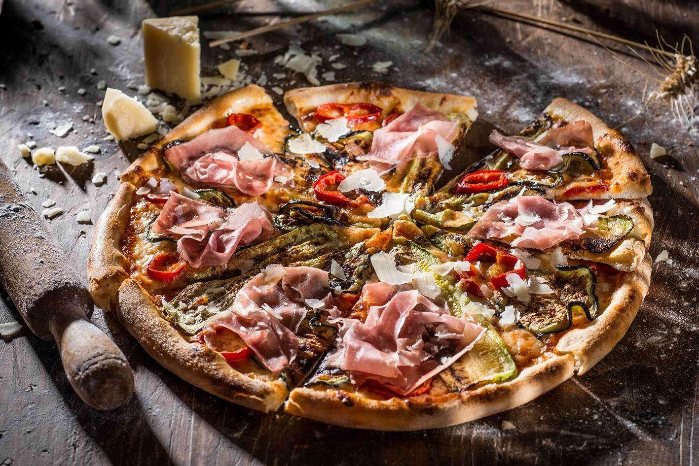 Foto der Schale Pizza Parma
