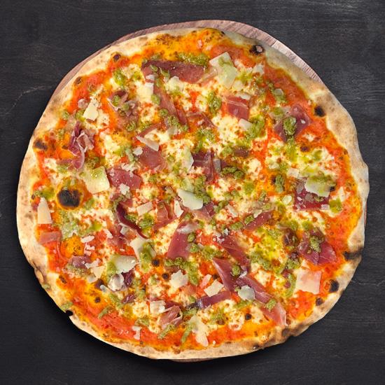 Foto der Schale Pizza Toscana