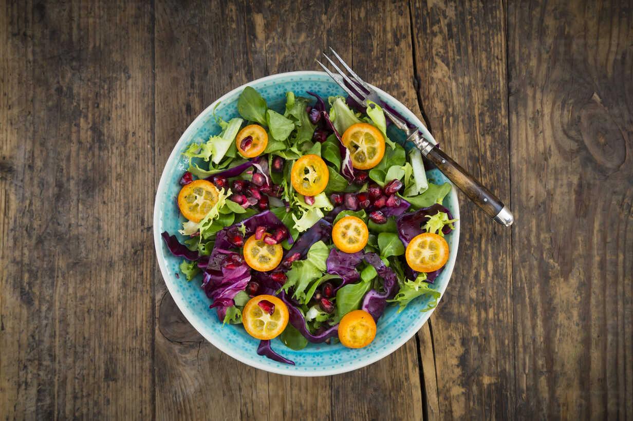 Foto der Schale Kleiner gemischter Salat