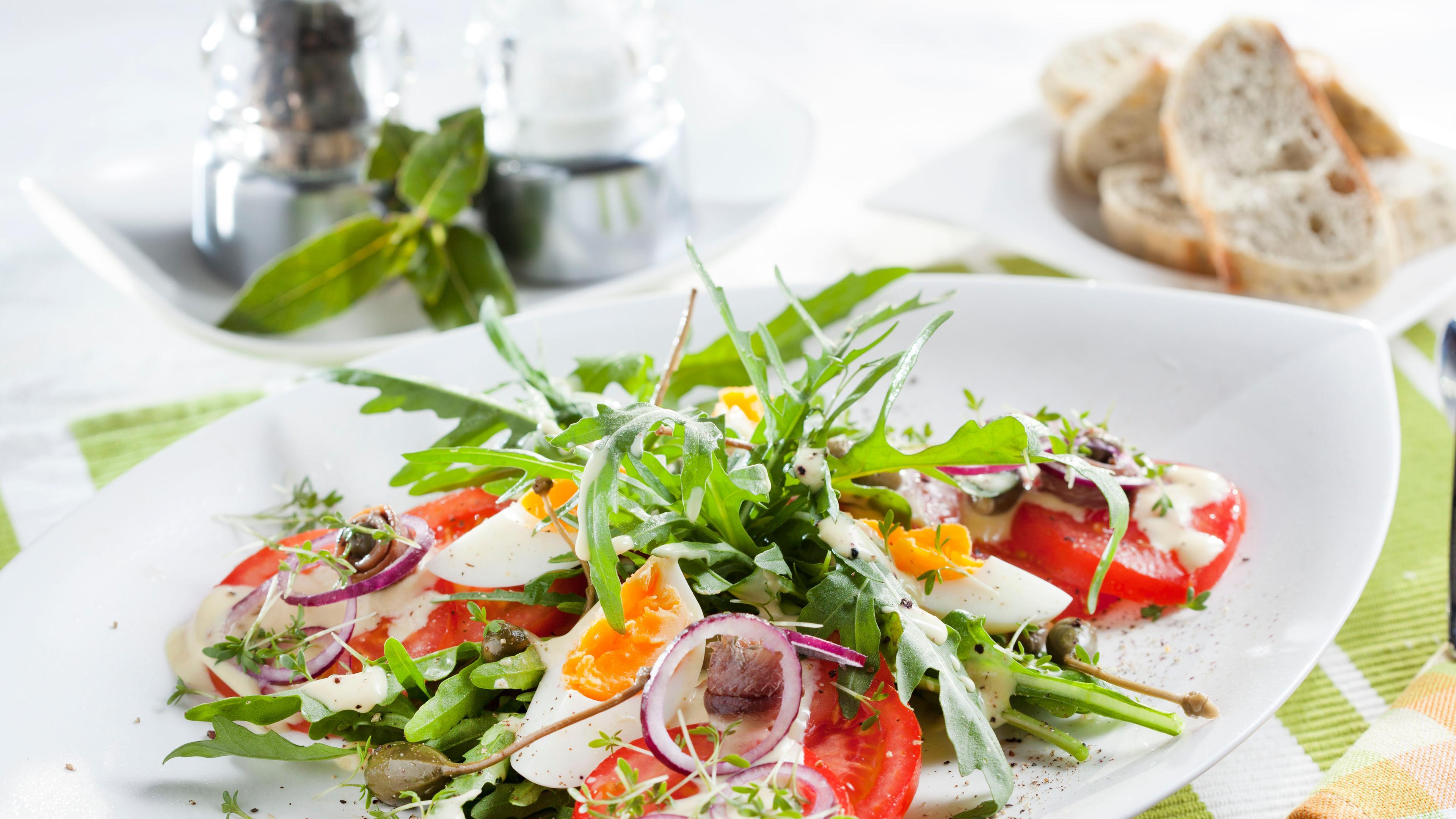 Foto der Schale Fitness Salat