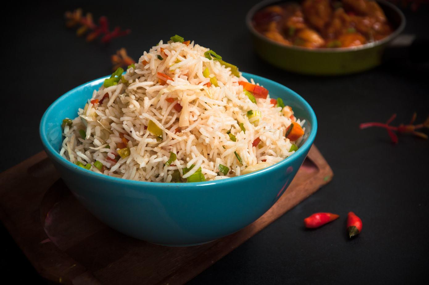 Foto der Schale Gebratener Reis