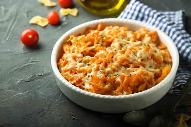Foto der Schale Spaghetti al Forno
