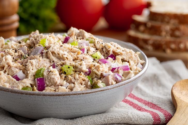 Foto der Schale Thunfisch Salat