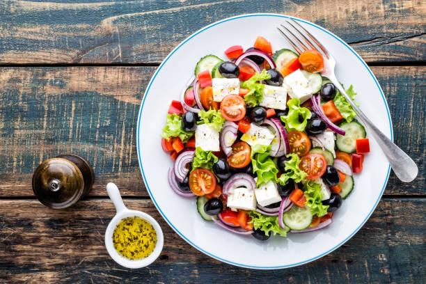 Foto der Schale Griechischer Salat