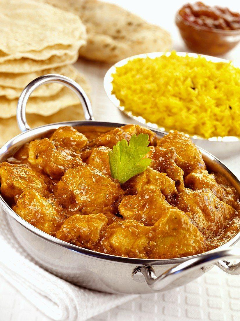 Foto der Schale Chicken Madras