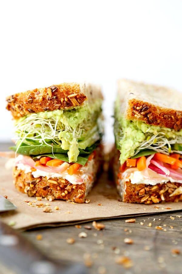 Foto der Schale Kalifornien Sandwich