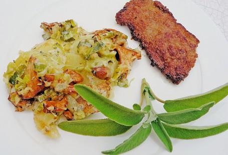 Pfifferling-Schnitzel
